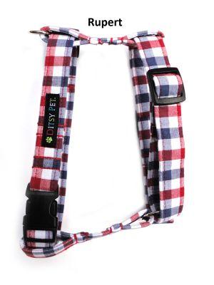 Ditsy Pet Classic Fabric Harnesses