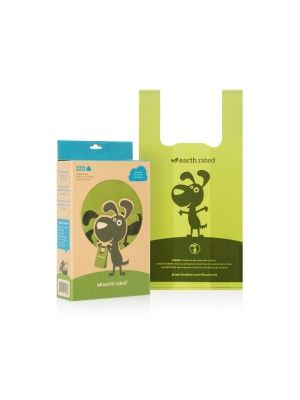 Earth Rated Poop Bags with Tie Handle - Unscented