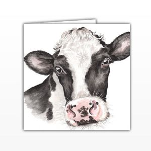 Waggy Dogz Cards - Fresian Cow