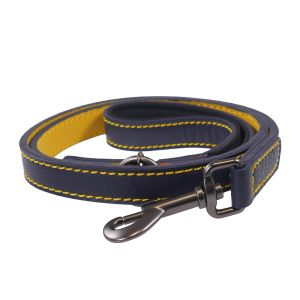 Joules Leather Lead Navy