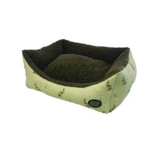 Snug & Cosy Hare Print Rectangular Bed
