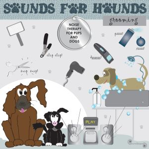 Sounds for Hounds CD - Grooming