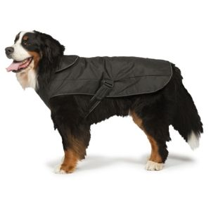 2-in-1 Harness Dog Coat - GREY