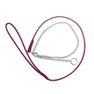 The Showdog Company Combination Leather & Chain Slip Show Lead