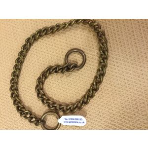Brass Choke Chain with Curb Link