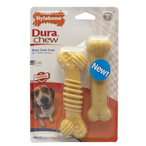 Nylabone Twin Pack Textured Chicken Medium