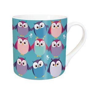 Tarka Mug - Owl Party