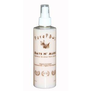 Pure Paws Oats 'N' Aloe Spray 8oz