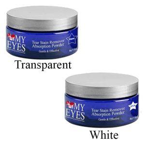 Pure Paws Love My Eyes Facial Powder - White