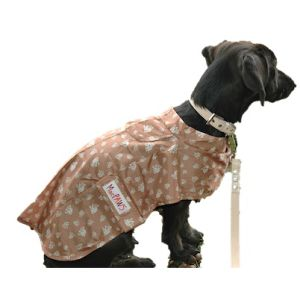 MacPaws Packable Raincoat - Tan Walker