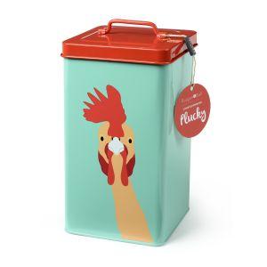Burgon & Ball Storage Tin - Plucky Chicken