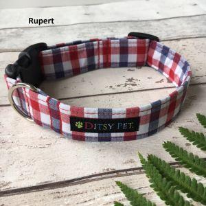 Ditsy Pet Classic Fabric Collars