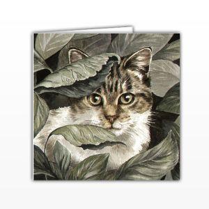 Waggy Dogz Cards - Hiding Place - Tabby Cat