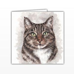 Waggy Dogz Cards - Tabby Cat