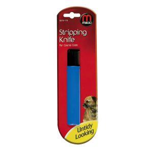 Mikki Stripping Knife Coarse (Blue)