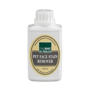 Bac to Nature Pet Facial Stain Remover  250ml