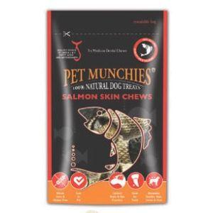 82013 Pet Munchies Salmon Skin Chews