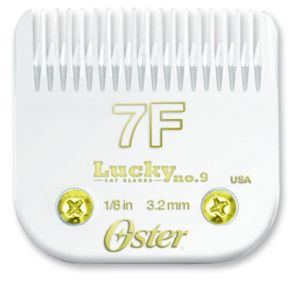 Oster Lucky No 9 Cat Blades Size 7F