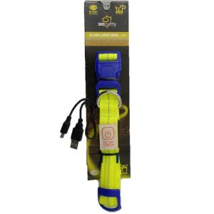 Seecurity Collar Nylon USB Flash Light