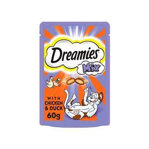 Dreamies Chicken & Duck 60g Cat Treats