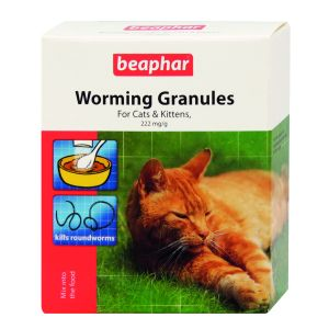 Beaphar Worming Granules for cats 4 x 1gm