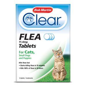 Bob Martin Flea Tablets  Cats & Small Dogs under 11kg