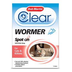 Spot on Wormer Cats & Kittens (2 tubes)