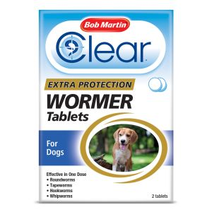 Bob Martin 3 in 1 Dewormer For Dogs - 2 Tablets