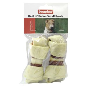 Beaphar Beef n Bacon Small Knots (2 pack)