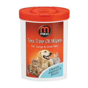 Mikki Tea Tree Oil Wipes 17 wipes