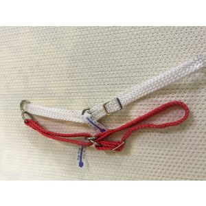Dajan Nylon Braid Adjustable Half Check Collar - no chain 3/8