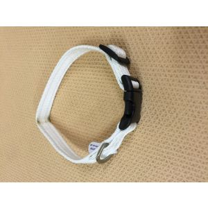 Dajan Manhattan Style adjustable nylon Collar with snap close 3/4