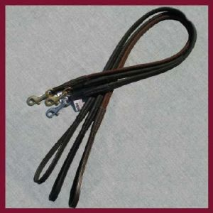 Dogmatic Leather Lead - Full Non Slip