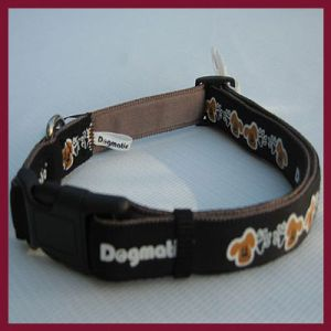 Dogmatic Padded Cushioned Webbing Adjustable Collar