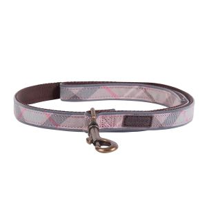 Barbour Taupe Tartan Reflective Lead