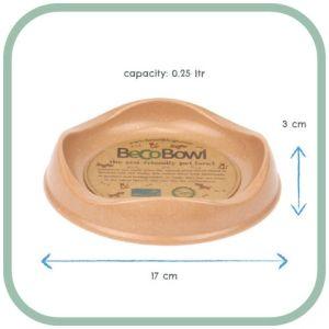 Beco Cat Bowl - Brown