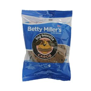 Betty Miller Big Biscuits - Carob x 3