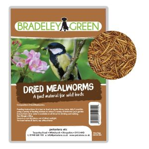 Bradeley Green Dried Mealworms