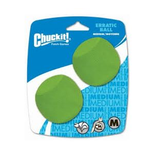 Chuckit Erratic Ball (2 pack)