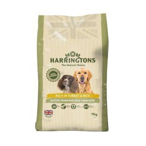 Harringtons Active Worker Turkey & Rice Complete Dog Food -15kg