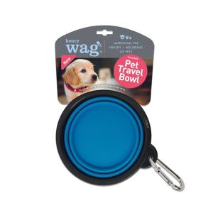 Henry Wag Silicone Travel Bowl