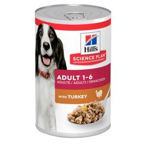 Hills Science Plan Adult Dog Wet Turkey 370g