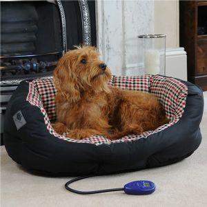 Hotdog Sutton Heated Wax Cushion Bed