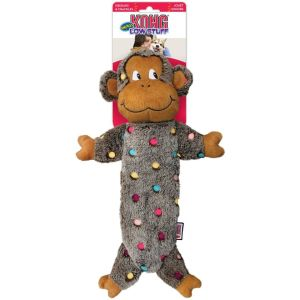Kong Low Stuff Speckles Monkey - Large