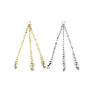 Chain triples: Lightweight for x small / small dogs