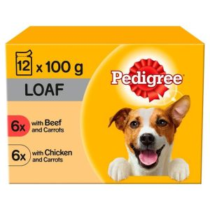 Pedigree Mixed Loaf x 12 Pouches