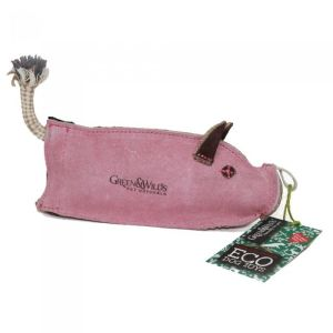 Green & Wilds - Peggy the Pig Eco Dog Toy - 00193