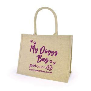 Petcetera 'My Doggy Bag' Jute Shopper