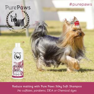 Pure Paws Silky Soft SLS Free Shampoo 16oz