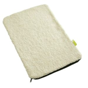 Maelson Soft Kennel Replacement Cushion 82 Sheepskin / Black (SKS7082)